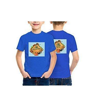 Camiseta algodón niño Basic - 2 caras