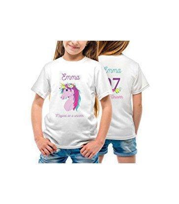 Camiseta algodón niño Premium - 2 caras