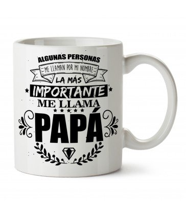 Taza Personalizada Frase Papá
