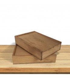 Caja Madera (para fotos) - Complementos comunión